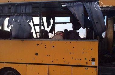Число пострадавших в расстрелянном под Волновахой автобусе возросло до 18 человек