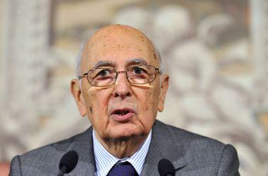 Президент Италии досрочно подал в отставку
