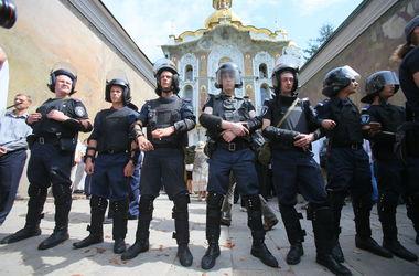 У киевских милиционеров появятся номера на шлемах