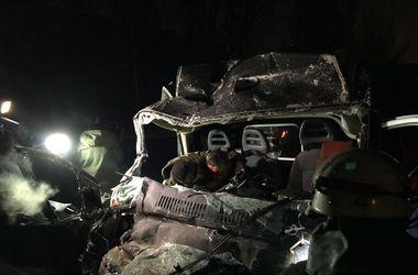 В Донецке разбился и сгорел автобус - есть жертвы (обновлено)
