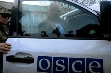 Патруль миссии ОБСЕ попал под обстрел в районе Мариуполя