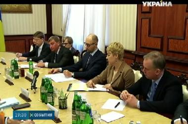 Ситуацию на Донбассе с президентом Парламентской ассамблеи СЕ обсудил украинский премьер