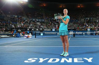 Петра Квитова выиграла теннисный турнир в Сиднее