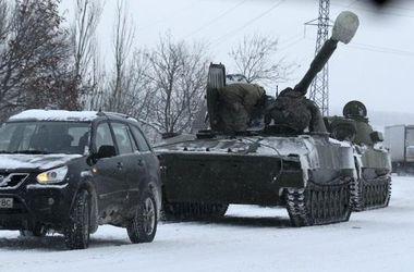 ОБСЕ зафиксировала передвижение танков и артиллерии в Донецкой области