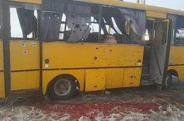 ОБСЕ  подтвердила, что автобус под Волновахой расстреляли с оккупированной территории