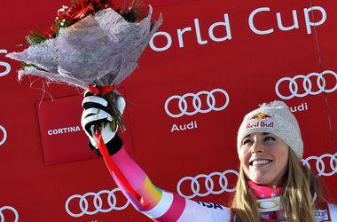 Горнолыжница Линдси Вонн установила рекорд по количеству побед на этапах Кубка мира