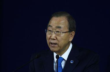 Ухудшения ситуации в Украине надо избежать любой ценой – Пан Ги Мун