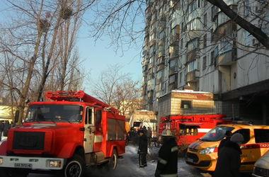 В Киеве горела часовня