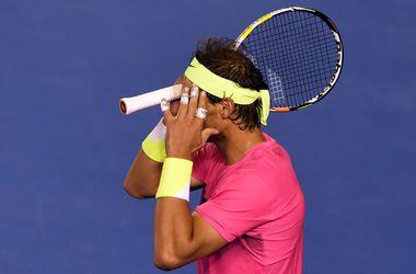 Надаль с трудом победил Смычека во втором круге Australian Open