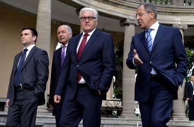 """МИД Германии о переговорах """"нормандской четверки"""": Остается ждать"""