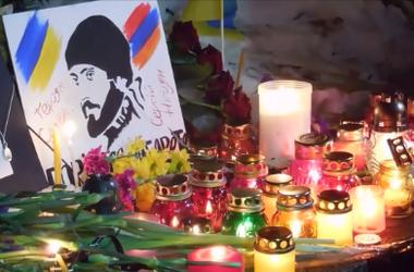 Активисты почтили память погибших на Майдане