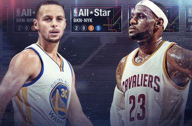 Стартовые пятерки Матча всех звезд НБА