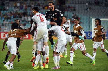Сборная ОАЭ вышла в полуфинал Кубка Азии