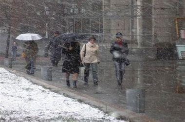 Сегодня украинцев ждет мокрый снег и дождь - синоптики