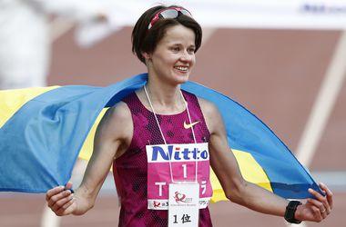 Украинка Татьяна Гамера-Шмырко выиграла марафон с национальным рекордом