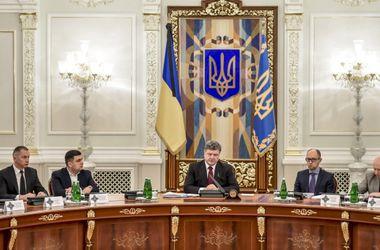 СНБО одобрил введение Украиной санкций против России