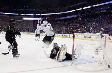 В Матче всех звезд НХЛ установлен рекорд по количеству заброшенных шайб