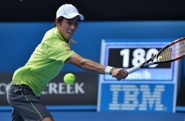 Нисикори пробился в четвертьфинал Australian Open