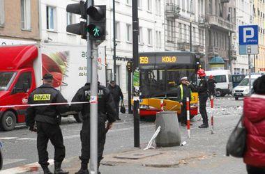 В центре Варшавы прогремел взрыв, есть пострадавшие