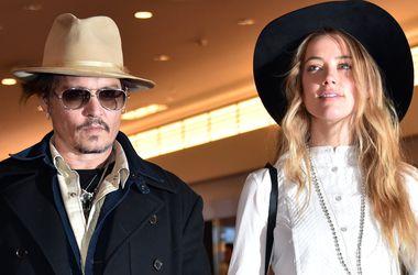 Влюбленные Джонни Депп и Эмбер Херд одеваются в одном стиле