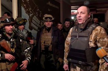 Бойцы Нацгвардии рассказали об обстрелах Дебальцево