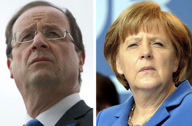 Меркель и Олланд потребовали немедленно прекратить насилие в Украине