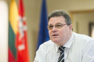 Линкявичюс призвал ЕС предоставить Украине военную помощь