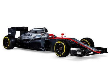"""Макларен"" представила болид на сезон-2015 в Формуле-1"