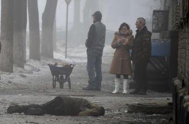 Украинские войска не причастны к гибели мирных жителей Донецка – СНБО