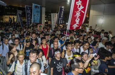 """В Гонконге начался новый """"Майдан"""""""