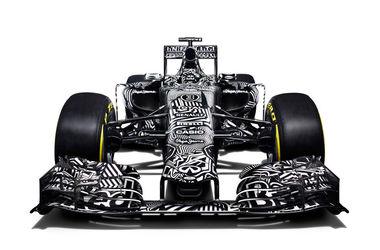 """Команда Формулы-1 """"Ред Булл"""" представила новый болид в тестовой расцветке"""