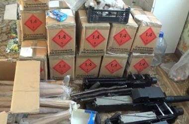 Под Киевом милиционеры нашли арсенал оружия и боеприпасов