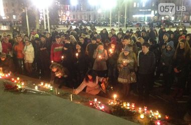 Харьковчане скорбят по Скрябину