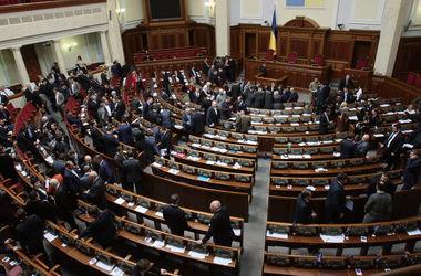 Рада провалила закон об Антикоррупционном бюро и ушла на внеплановый перерыв