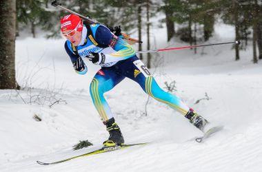 Украинские биатлонисты стали вторыми в эстафете на чемпионате Европы