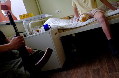 В Одесский госпиталь привезли раненых бойцов