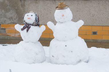 Завтра в Украине кое-где мокрый снег