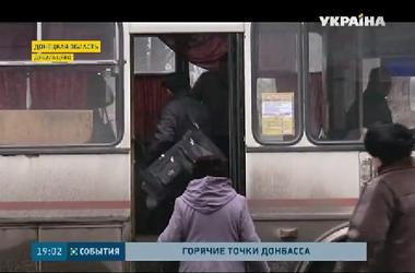 В Углегорске и Дебальцевом создан зеленый коридор для эвакуации мирных жителей