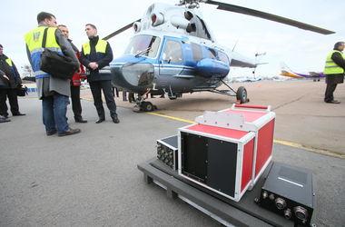 В Киеве появился вертолет, который с помощью тепловизора проверяет теплосети