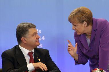 Германия играет ключевую роль в урегулировании конфликта на Донбассе - Порошенко