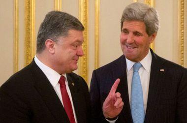 Совместное заявление Порошенко и Керри: полное видео
