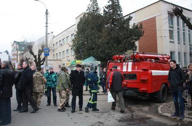 В центре Ивано-Франковска произошел взрыв, есть жертвы
