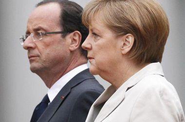 Олланд и Меркель прибыли на встречу с Порошенко