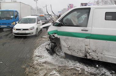 Подробности жуткой аварии на Броварском проспекте: количество пострадавших выросло до шести