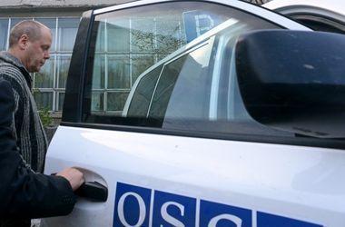 Наблюдателей ОБСЕ обстреляли из минометов на подконтрольной боевикам территории