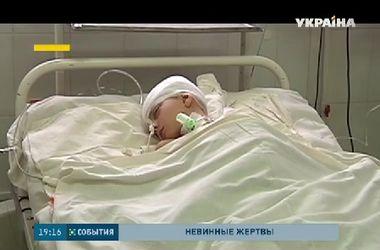 Гуманитарный штаб Рината Ахметова взял под опеку раненого мальчика из Авдеевки