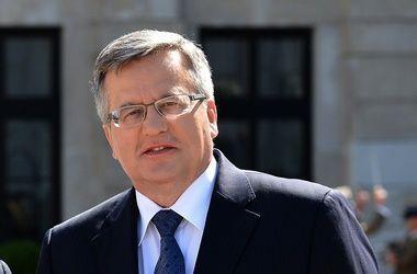 Коморовский поборется за пост президента Польши
