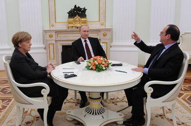Помощник Обамы рассказала, с чем Меркель и Олланд приехали к Путину