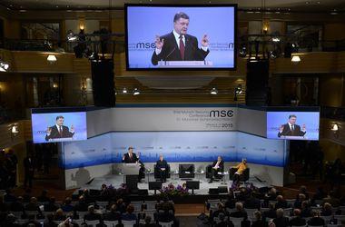 """Порошенко подвел итоги """"украинского дня"""" на Мюнхенской конференции"""