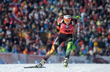 Биатлон: Домрачева выиграла гонку преследования, Юлия Джима - седьмая